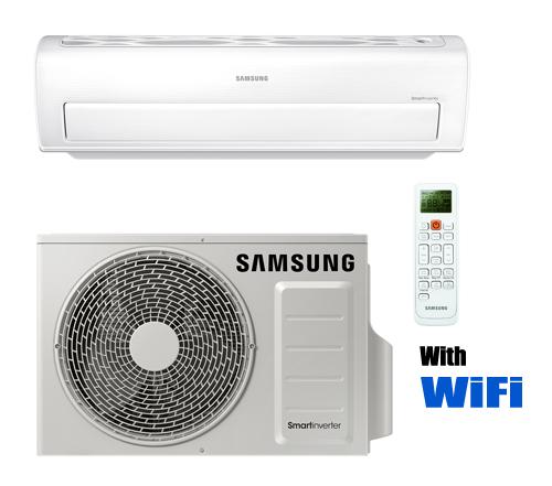 Samsung Smart Whisper Ar18kswsjwkxcv 18 000 Btu Mini Split Heat Pump 230 Volt