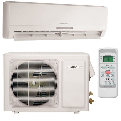 frigidaire btu ductless minisplit cool only