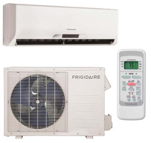 Frigidaire Frs123lw1 Frs123lc1 12 000 Btu Ductless Mini