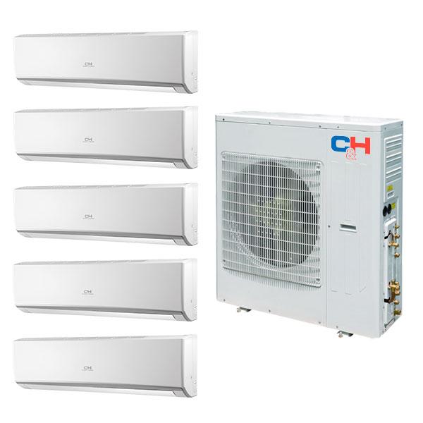 Cooper hunter victoria gwhd42nd3eo 42 000 btu heat pump for Window unit heat pump