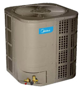 midea 15 ton central air conditioner condenser unit cooling only