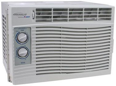 Soleus kc 35ha 12 000 btu air conditioner cooling heat for Window unit heat pump